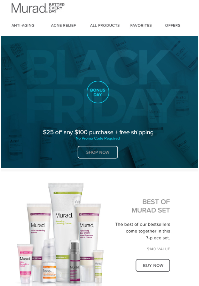 Murad Skin Care Black Friday 2014 1 - Murad Skin Care Black Friday 2019
