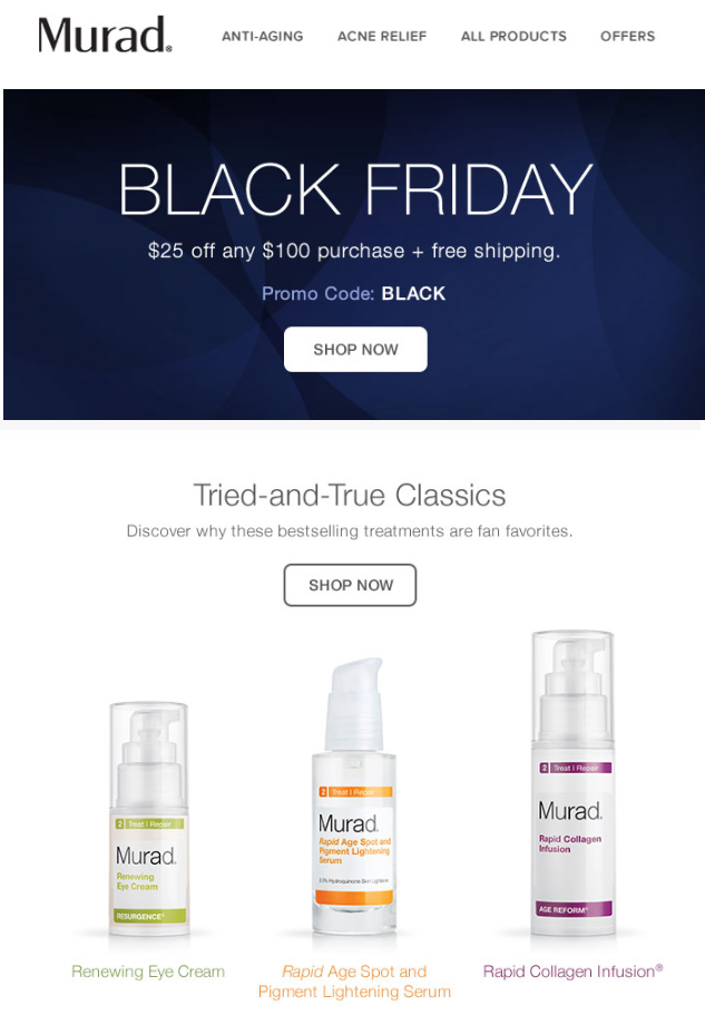Murad Skin Care Black Friday 2015 1 - Murad Skin Care Black Friday 2019