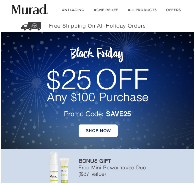 Murad Skin Care Black Friday 2016 1 - Murad Skin Care Black Friday 2019