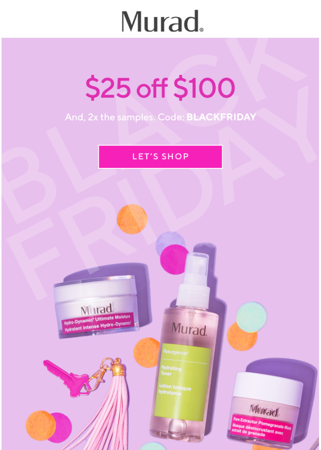 Murad Skin Care Black Friday 2018 1 - Murad Skin Care Black Friday 2019