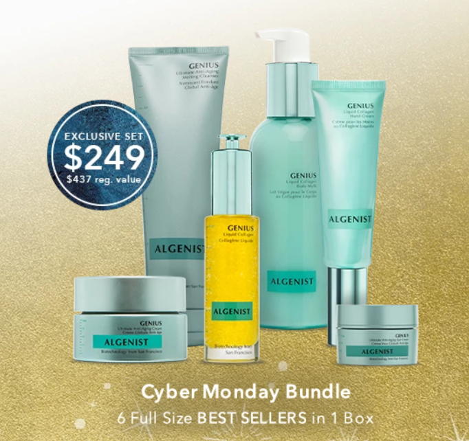 ALGENIST Cyber Monday - The Best Cyber Monday 2019 Beauty Deals