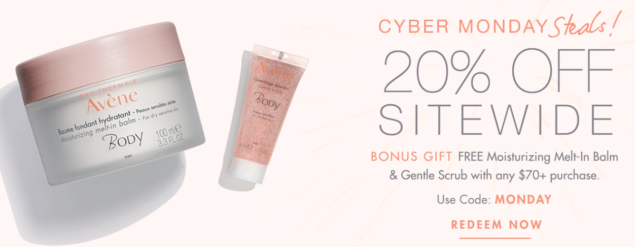 AVENE Cyber Monday - The Best Cyber Monday 2019 Beauty Deals