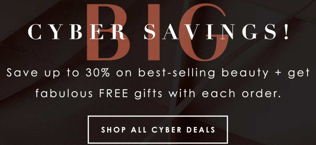 B GLOWING Cyber Monday - The Best Cyber Monday 2019 Beauty Deals
