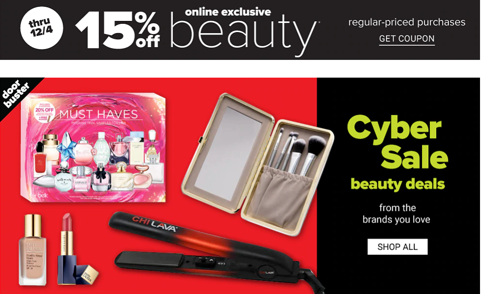 Belk Cyber Monday 1 - The Best Cyber Monday 2019 Beauty Deals