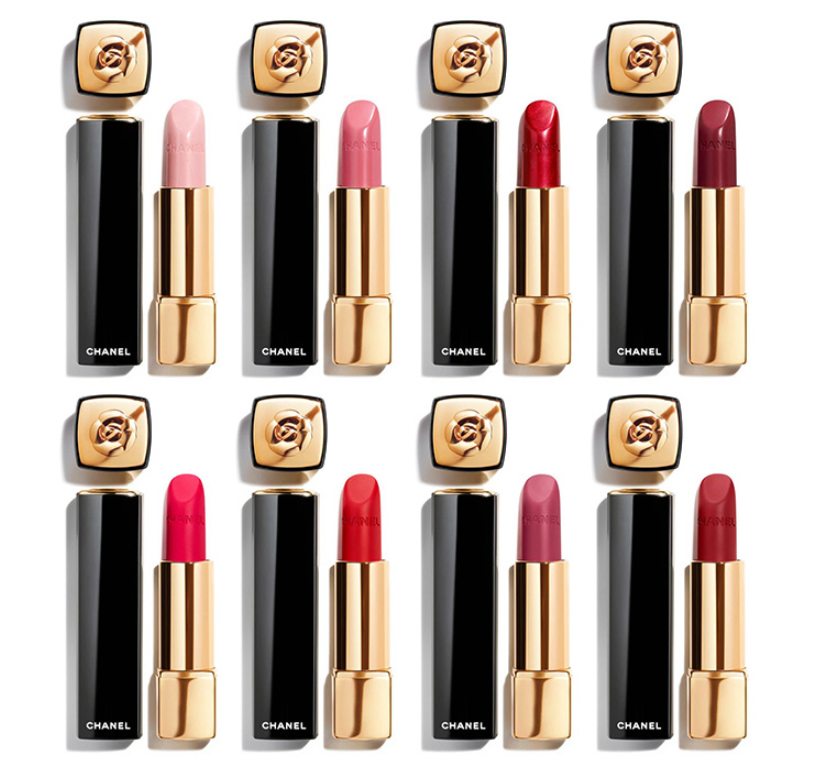 CHANEL CAMELIA ROUGE ALLURE LIP COLORS LIP PENCILS FOR SPRING 2020 AVAILABLE NOW 1 - CHANEL CAMELIA ROUGE ALLURE LIP COLORS & LIP PENCILS FOR SPRING 2020 AVAILABLE NOW