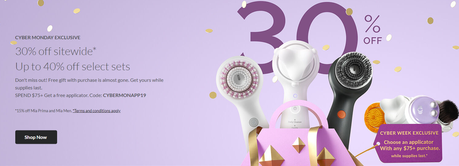 CLARISONIC Cyber Monday - The Best Cyber Monday 2019 Beauty Deals