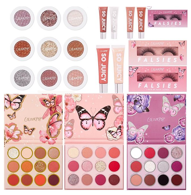 COLOURPOP BUTTERFLY COLLECTION EXCLUSIVE TO ULTA - COLOURPOP BUTTERFLY COLLECTION EXCLUSIVE TO ULTA