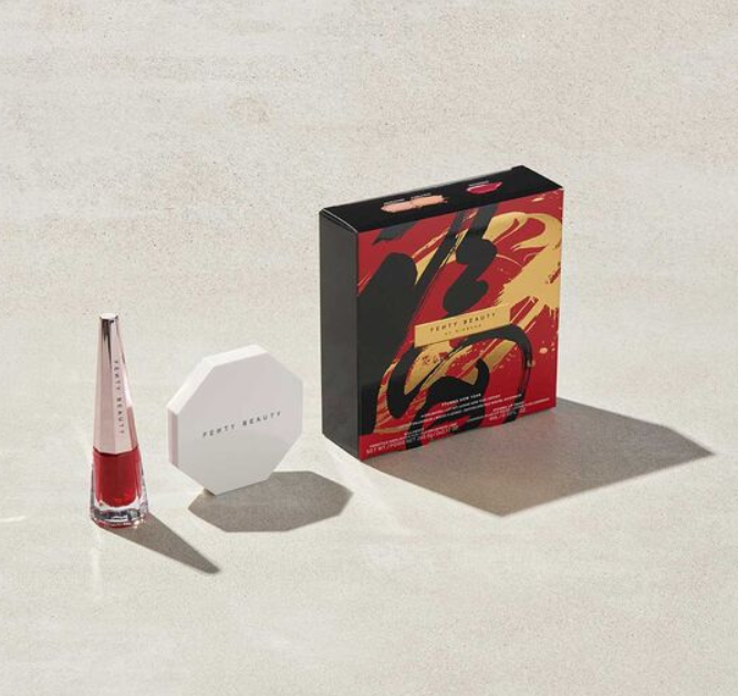 FENTY BEAUTY STUNNA 2020 LUNAR NEW YEAR HIGHLIGHTER LIP SET 1 - FENTY BEAUTY STUNNA 2020 LUNAR NEW YEAR HIGHLIGHTER + LIP SET