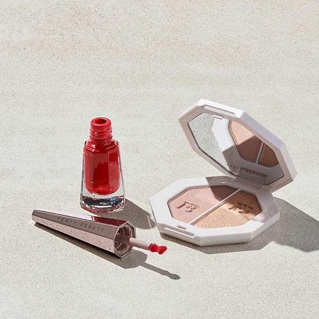 FENTY BEAUTY STUNNA 2020 LUNAR NEW YEAR HIGHLIGHTER LIP SET 2 - FENTY BEAUTY STUNNA 2020 LUNAR NEW YEAR HIGHLIGHTER + LIP SET
