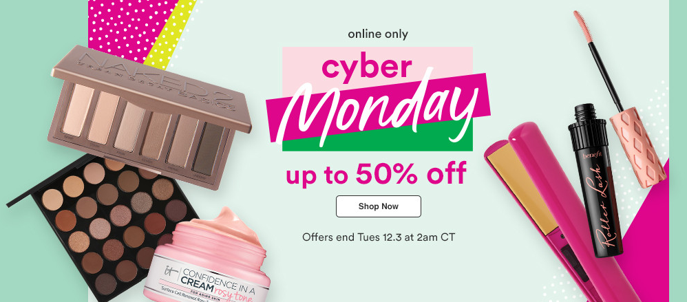 Ulta Cyber Monday 1 - The Best Cyber Monday 2019 Beauty Deals