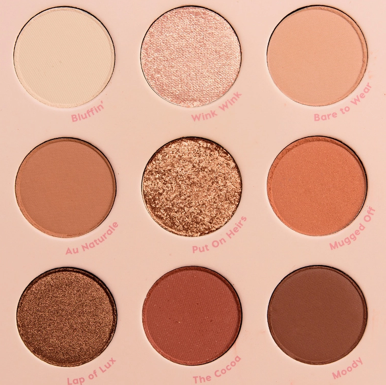 ColourPop Nude Mood Eyeshadow Palette Review & Swatches