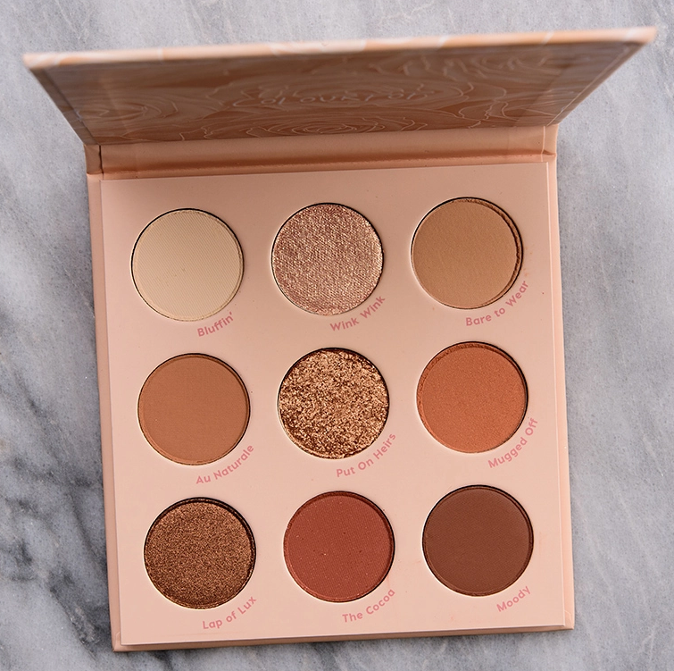 ColourPop Nude Mood Palette - Southeast by Midwest