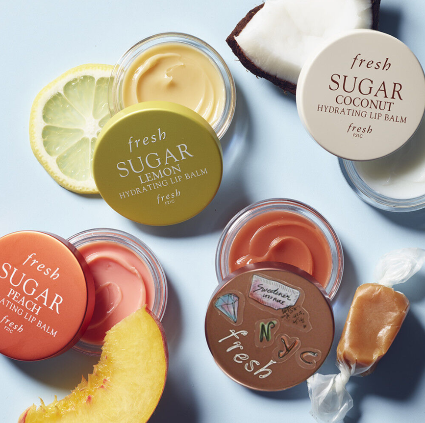 FRESH BEAUTY LIMITED EDITION SUGAR CARAMEL HYDRATING LIP BALM 1 - FRESH BEAUTY LIMITED-EDITION SUGAR CARAMEL HYDRATING LIP BALM