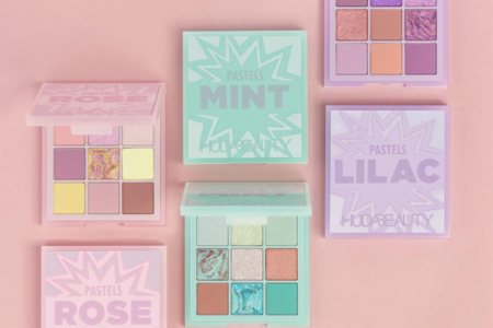 HUDA BEAUTY PASTEL OBSESSIONS PALETTES FOR Spring 2020 1 450x300 - HUDA BEAUTY PASTEL OBSESSIONS PALETTES FOR SPRING 2020