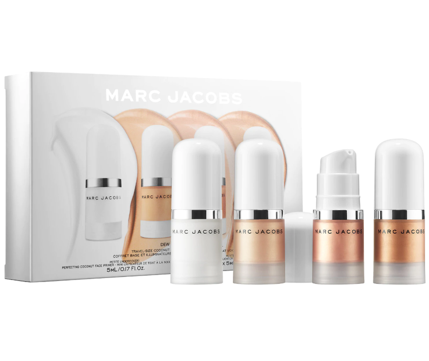 MARC JACOBS BEAUTY DEW EVERYTHING MINI COCONUT GEL HIGHLIGHTER AND PRIMER SET 1 - MARC JACOBS BEAUTY DEW EVERYTHING MINI COCONUT GEL HIGHLIGHTER AND PRIMER SET