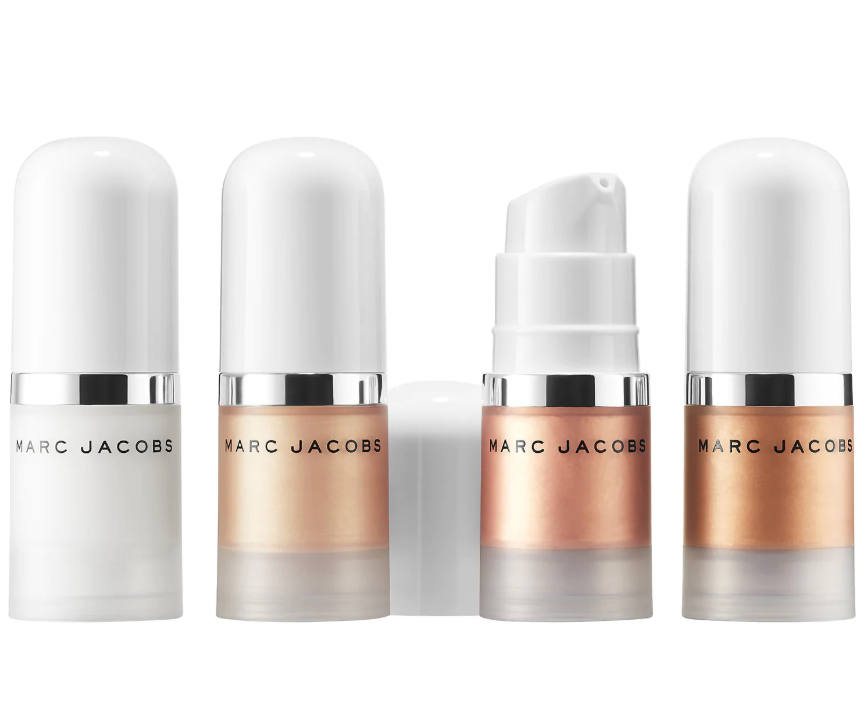 MARC JACOBS BEAUTY DEW EVERYTHING MINI COCONUT GEL HIGHLIGHTER AND PRIMER SET 2 - MARC JACOBS BEAUTY DEW EVERYTHING MINI COCONUT GEL HIGHLIGHTER AND PRIMER SET
