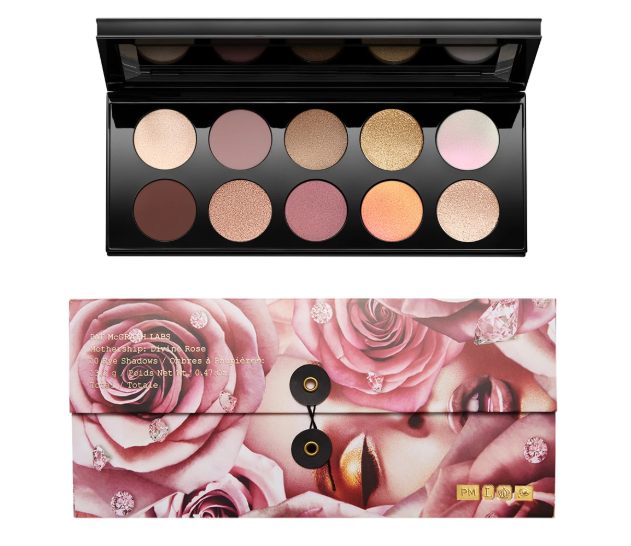 PAT MCGRATH MOTHERSHIP VII DIVINE ROSE EYESHADOW PALETTE AVAILABLE NOW - PAT MCGRATH MOTHERSHIP VII: DIVINE ROSE EYESHADOW PALETTE AVAILABLE NOW
