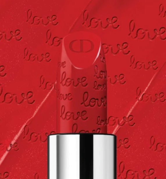 ROUGE DIOR VALENTINES DAY LIMITED EDITION 999 LIPSTICK 4 - ROUGE DIOR VALENTINE'S DAY LIMITED EDITION 999 LIPSTICK