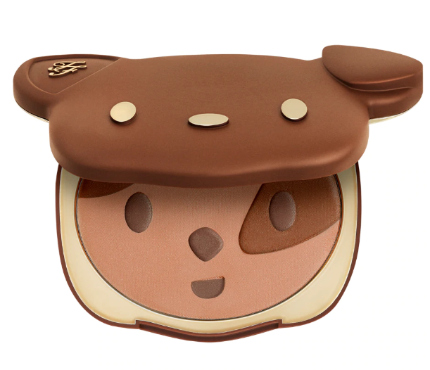 TOO FACED SUN PUPPY BRONZE LIMITED EDITION CLOVER COMPACT 1 - TOO FACED SUN PUPPY BRONZE LIMITED EDITION CLOVER COMPACT