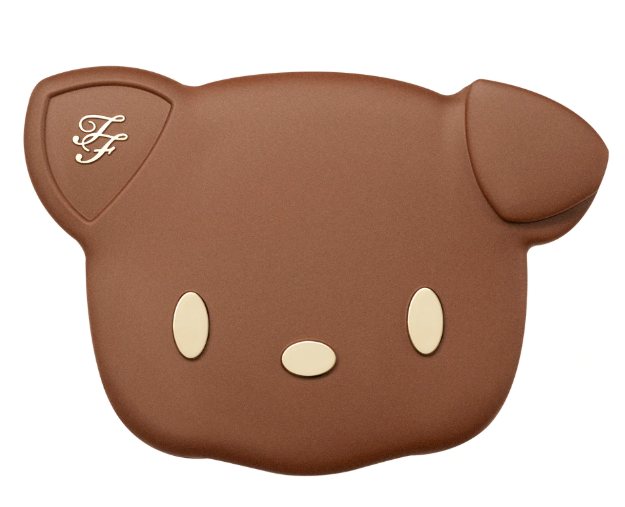 TOO FACED SUN PUPPY BRONZE LIMITED EDITION CLOVER COMPACT 2 - TOO FACED SUN PUPPY BRONZE LIMITED EDITION CLOVER COMPACT