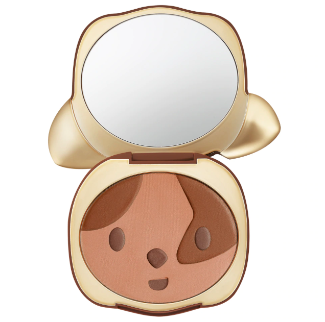 TOO FACED SUN PUPPY BRONZE LIMITED EDITION CLOVER COMPACT 3 - TOO FACED SUN PUPPY BRONZE LIMITED EDITION CLOVER COMPACT