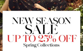Bergdorf Goodman Spring Sale Up to 25 Off and Free Shipping 2 320x200 - Bergdorf Goodman Spring Sale - Up to 25% Off and Free Shipping