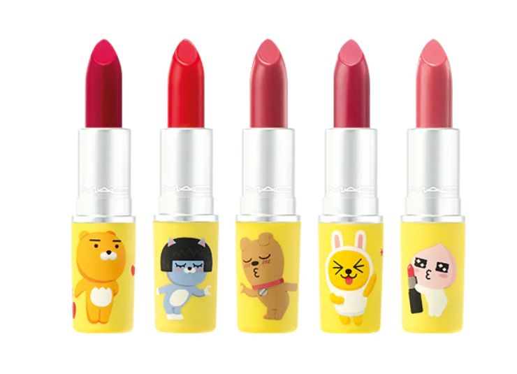 MAC x KAKAO FRIENDS LOVE LIPS COLLECTION 1 - MAC x KAKAO FRIENDS LOVE LIPS COLLECTION