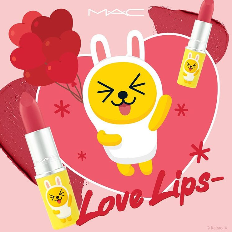 MAC x KAKAO FRIENDS LOVE LIPS COLLECTION 10 - MAC x KAKAO FRIENDS LOVE LIPS COLLECTION
