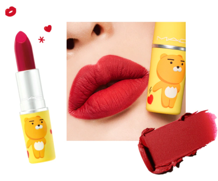 MAC x KAKAO FRIENDS LOVE LIPS COLLECTION 2 - MAC x KAKAO FRIENDS LOVE LIPS COLLECTION