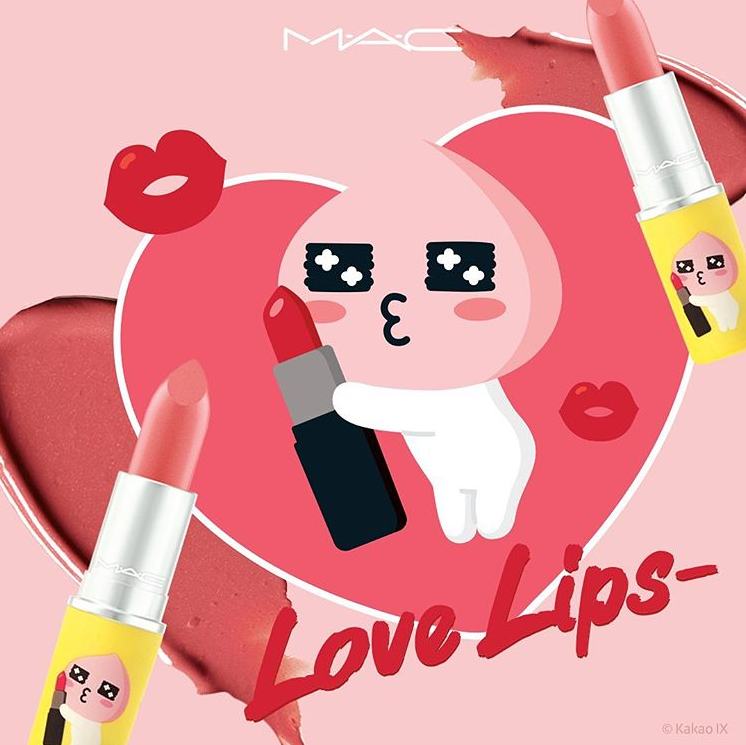 MAC x KAKAO FRIENDS LOVE LIPS COLLECTION 8 - MAC x KAKAO FRIENDS LOVE LIPS COLLECTION