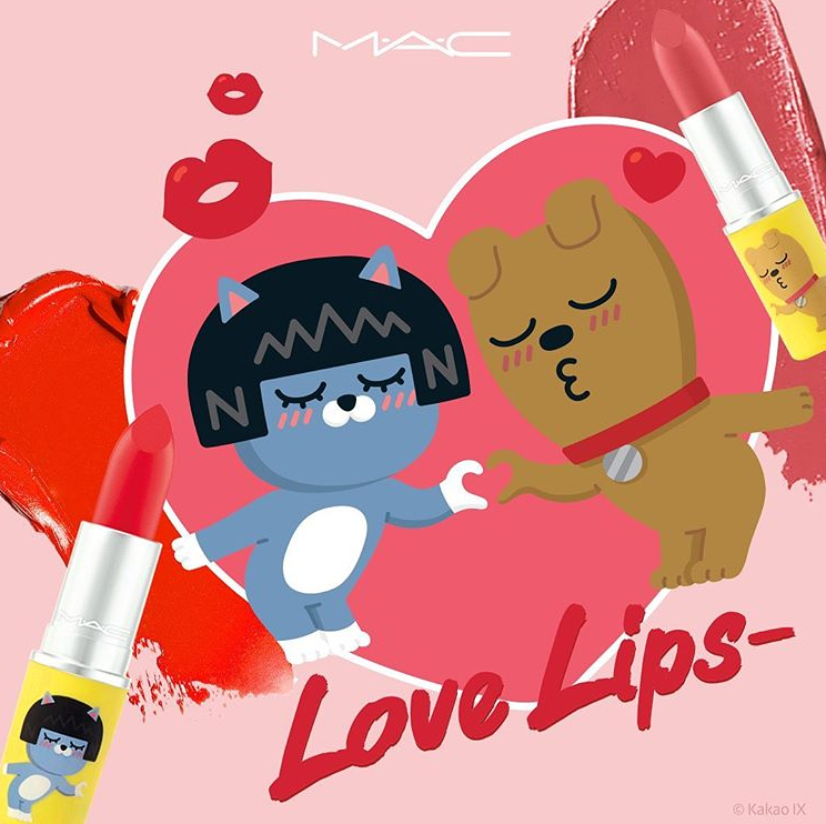 MAC x KAKAO FRIENDS LOVE LIPS COLLECTION 9 - MAC x KAKAO FRIENDS LOVE LIPS COLLECTION