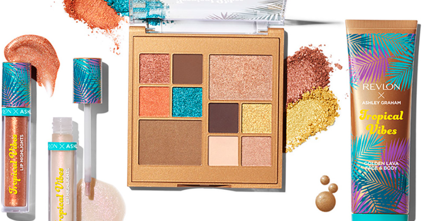 REVLON x ASHLEY GRAHAM TROPICAL VIBES COLLECTION INSPIRED BY TROPICAL SCENERY 3 861x450 - REVLON x ASHLEY GRAHAM TROPICAL VIBES COLLECTION INSPIRED BY TROPICAL SCENERY
