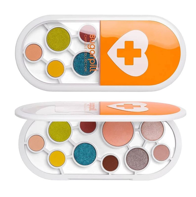 SUGARPILL C2 CAPSULE COLLECTION EYESHADOW PRESSED PIGMENT PALETTE EXCLUSIVELY TO ULTA 1 - SUGARPILL C2 CAPSULE COLLECTION EYESHADOW & PRESSED PIGMENT PALETTE EXCLUSIVELY TO ULTA