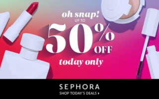 Sephora Oh Snap!Daily Deals 2020 up to 50 off 1 320x200 - Sephora Oh Snap 2021