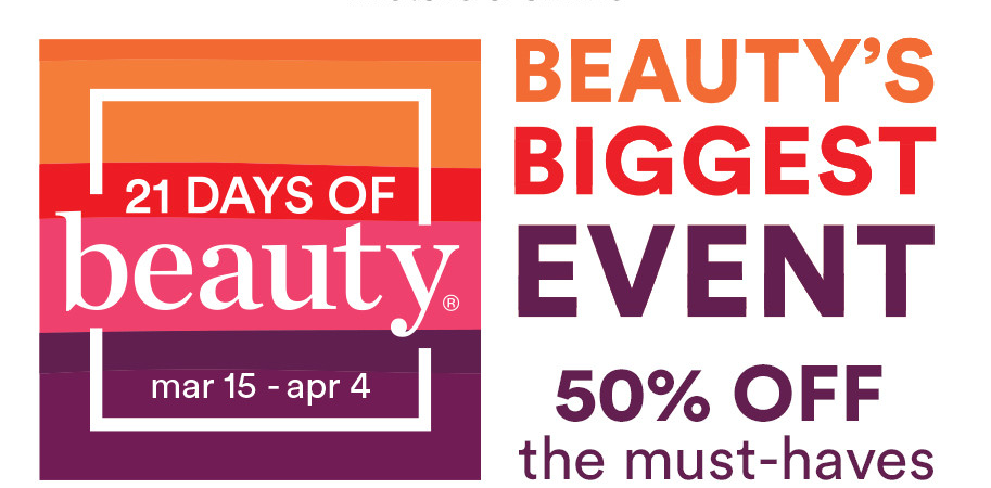 Ulta 21 Days of Beauty Event 2020 1 913x450 - Ulta 21 Days of Beauty Event 2021