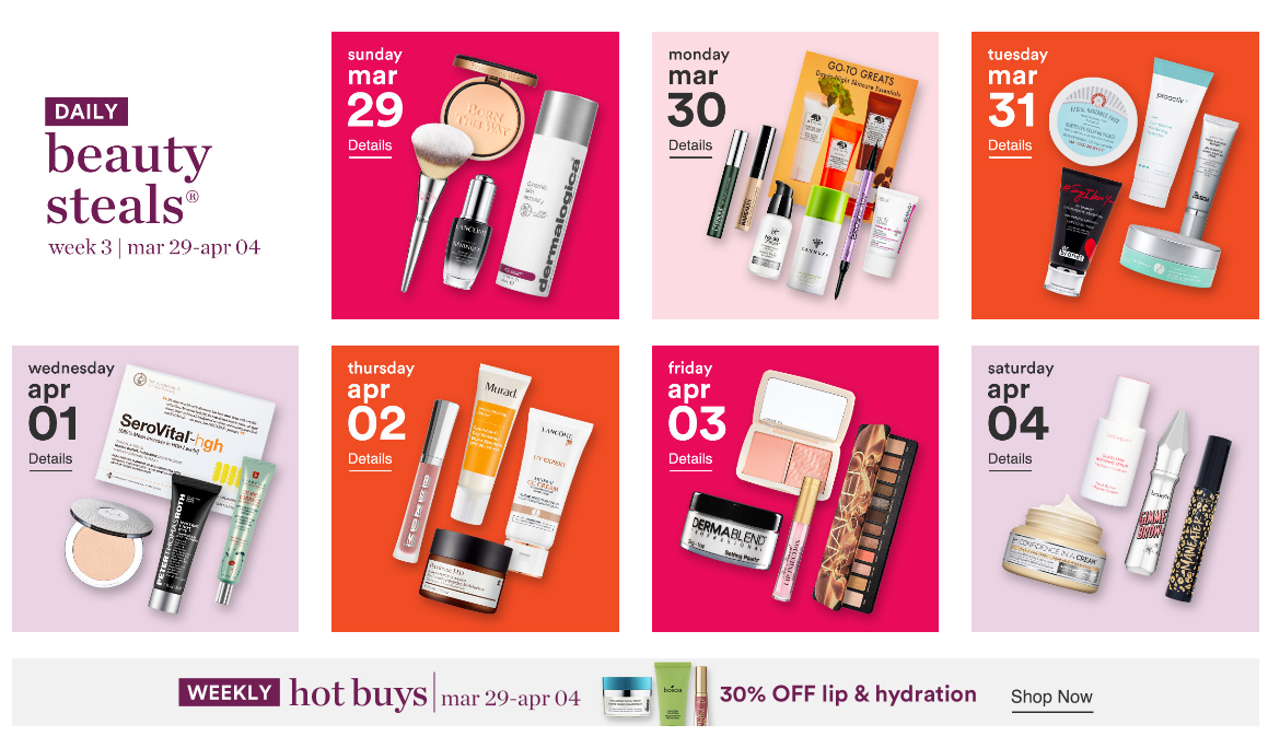 Ulta 21 Days of Beauty Event 2020 5 - Ulta Beauty Sales Calendar 2021