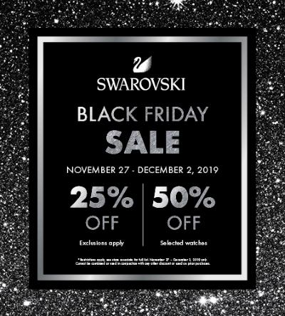 Swarovski Black Friday 2021 Beauty Deals & Sales | Chic moeY