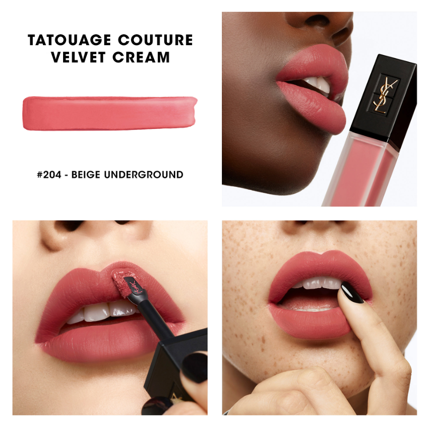 Ysl Beauty Tatouage Couture Velvet Cream Liquid Lipstick