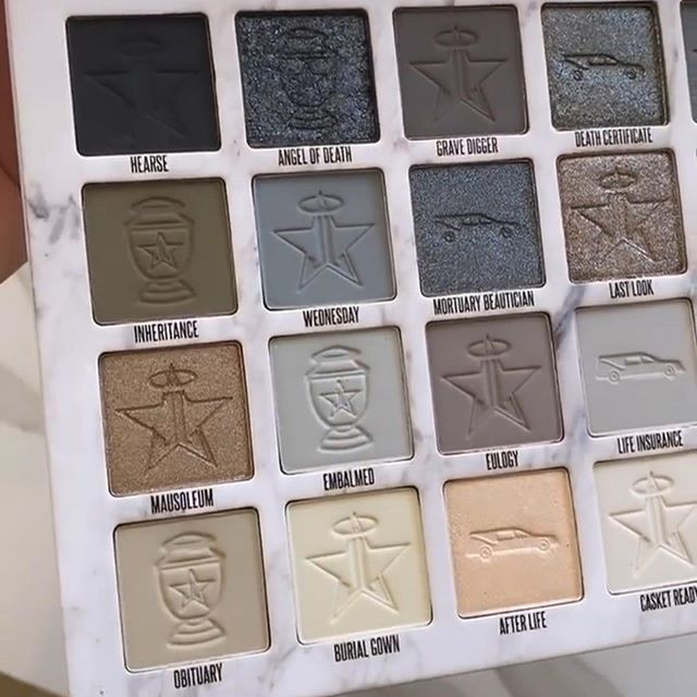 97162399 124156925947491 7624193639812362094 n - Jeffree star Cosmetics CREMATED Collection 2020