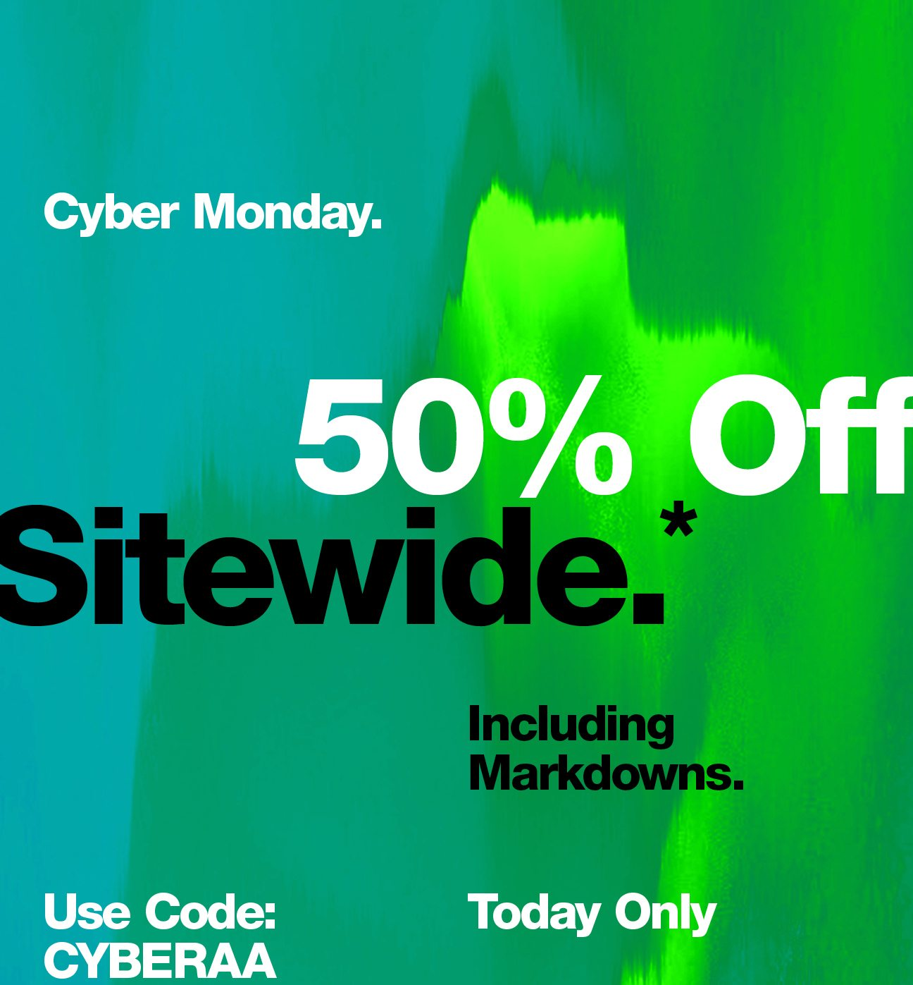 American Apparel Cyber Monday 1 - American Apparel Cyber Monday 2020