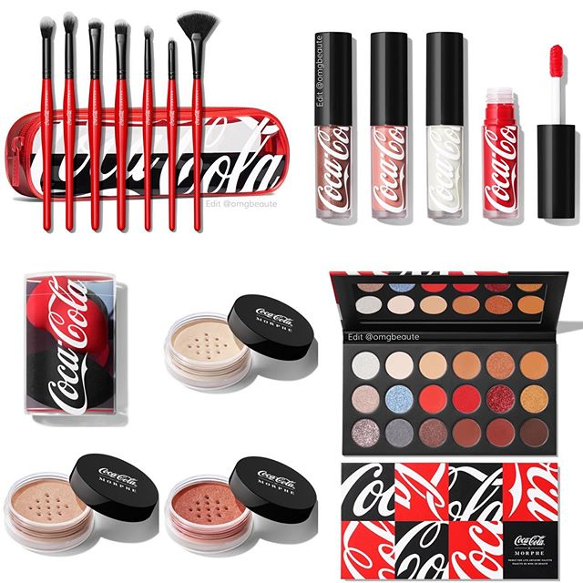 103840796 309858210041450 8275010897266667006 n - CocaCola×Morphebrushes Thirst For Life Collection 2020