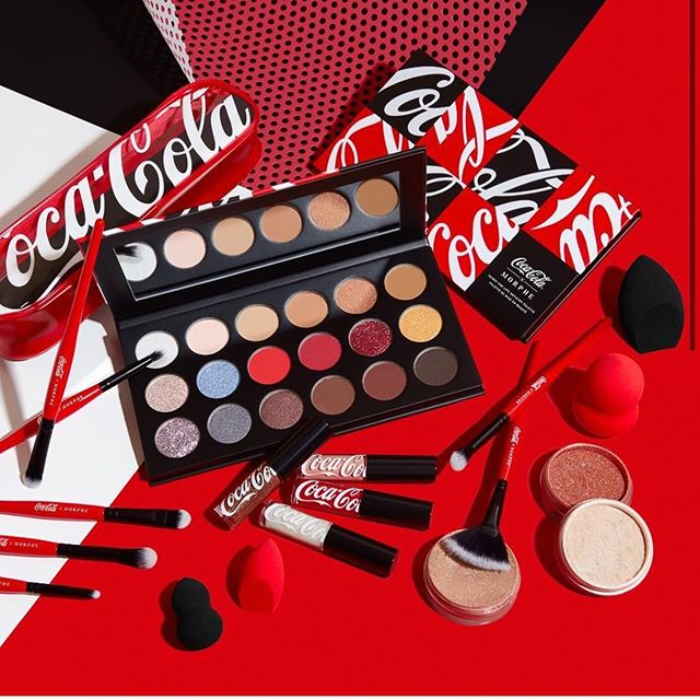 104251984 142687524058376 709357842225236007 n - CocaCola×Morphebrushes Thirst For Life Collection 2020
