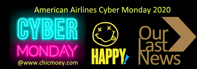 American Airlines Cyber Monday 2020 Beauty Deals Sales Chic Moey