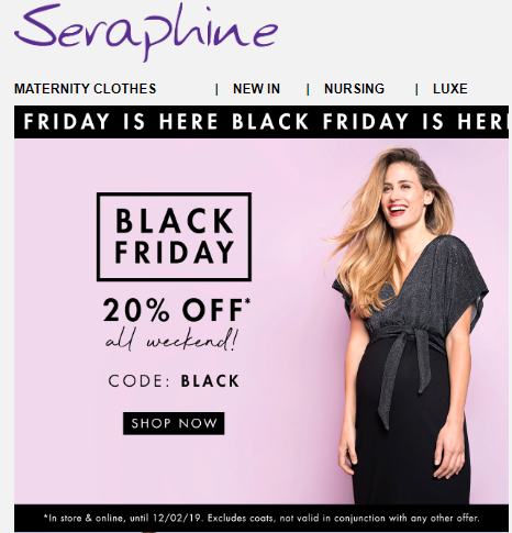 Seraphine Black Friday 2021 Beauty Deals Sales Chic Moey