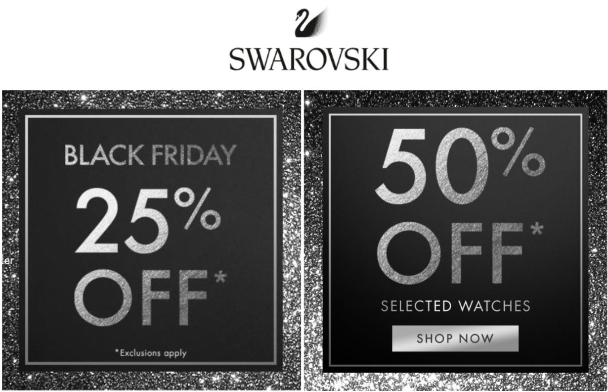 Swarovski CA Black Friday 2021 Beauty Deals & Sales | Chic moeY
