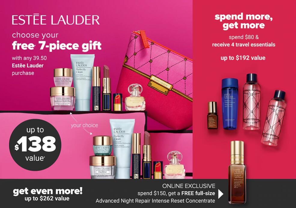 belkest - Estee Lauder gift with purchase 2020