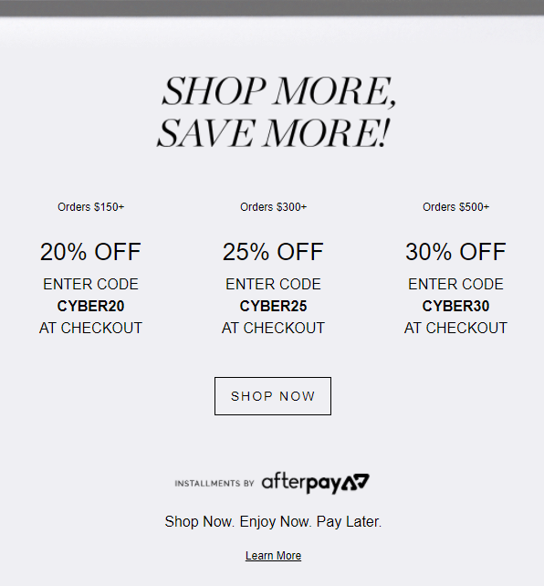 Cyber Monday up to 30 Off 2 - RevitaLash Cyber Monday 2021