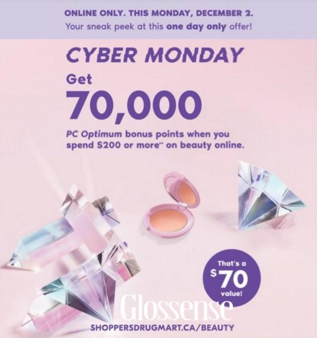 Shoppers Drug Mart Cyber Monday 2020 Beauty Deals Sales Chic Moey