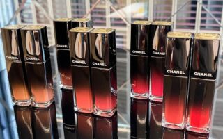 Chanel Rouge Allure Laque Lip Swatch 2 320x200 - Chanel Rouge Allure Laque Fall 2020