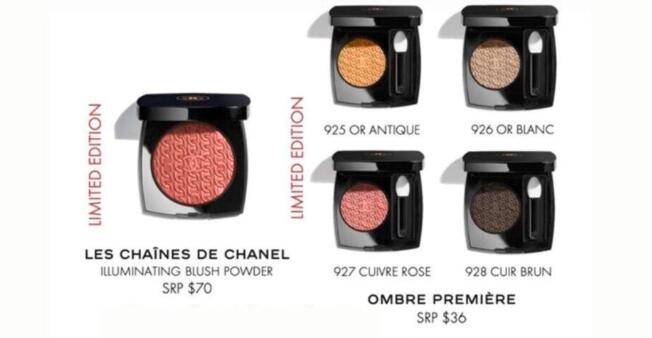 1 35 - Chanel Les Chaines D'Or de Chanel Holiday Collection 2020